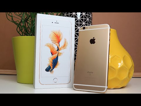 gold iphone 6 plus iphone 6s plus gold unboxing day 59 2197