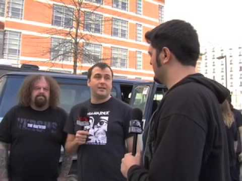Napalm Death Interview on Metal Injection @ New England Metal and Hardcore Fest 2009