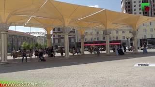 Летний Грозный привлекает внимание большинства туристов