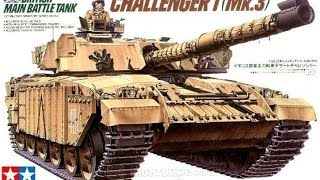 Tamiya 1/35 Challenger I MK.3 - Inbox Review