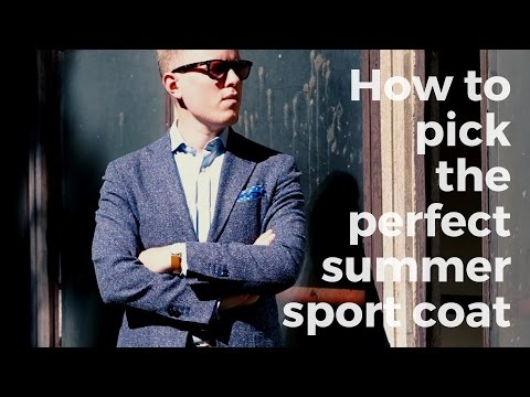 How to pick the perfect summer sport coat