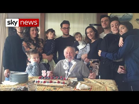 Coronavirus: Italian family feared taking grandfather to hospital