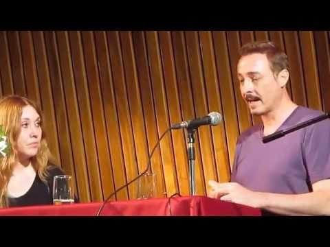 """Pedro Aznar en la Expo """"Spinetta, los libros de la buena memoria"""""""