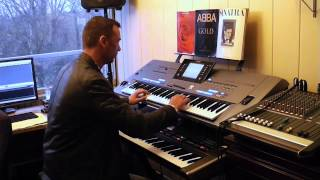 Jermaine Jackson Pia Zadora When The Rain Begins To Fall Yamaha Tyros 5 Roland G70 By Rico