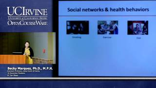 Public Health Seminar. Social Support Networks and Health Behaviors Among Latinos.