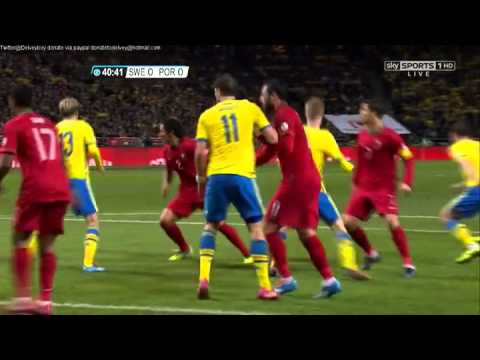 Sweden v Portugal Watch Online Full Match Replay Skysports HD   World Cup 2014 Quali