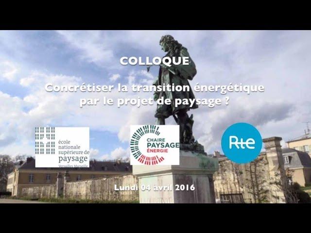 Présentation Colloque
