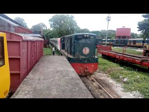 DEMU Train running With 2232 series Loco