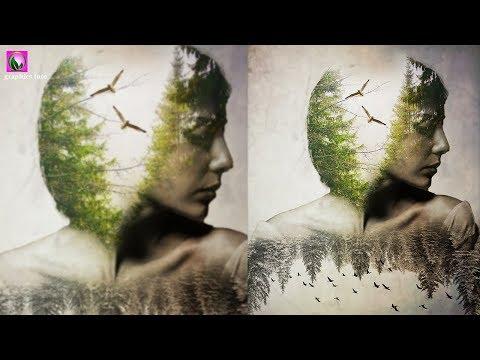 Double Exposure Effect In Portrait |  Photo Effect Tutorial thumbnail