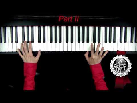 J.S. BACH - Arioso Piano Tutorial SLOW(part 2)