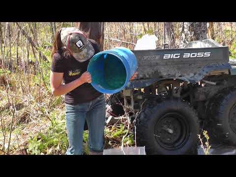 comment construire un pots a minéraux avec véronique lévesque de buck hunter