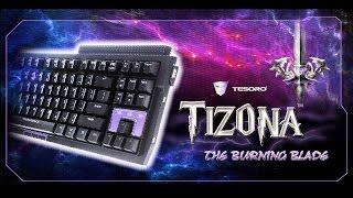 Tesoro Tizona Обзор механической клавиатуры