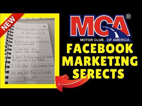 MCA Facebook Marketing Training 2018
