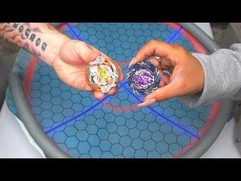 CRASH RAGNAROK vs YAMITERIOS | Beyblade Burst Super Z ベイブレードバースト 超ゼツ