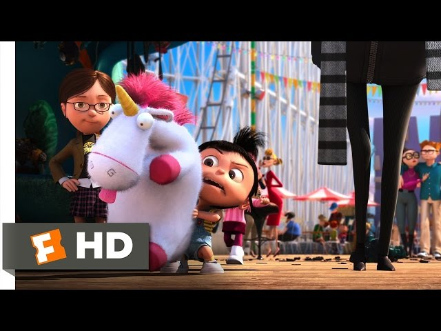 Despicable Me: Fluffy toy scene