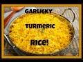 My Family's Secret Garlicky Middle Eastern Rice Recipe! الأرز مع الثوم والكركم