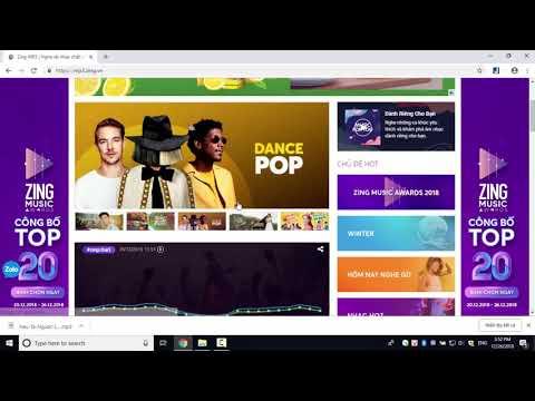 Cách tải nhạc MP3 từ Zing MP3 về máy tính - Download.com.vn