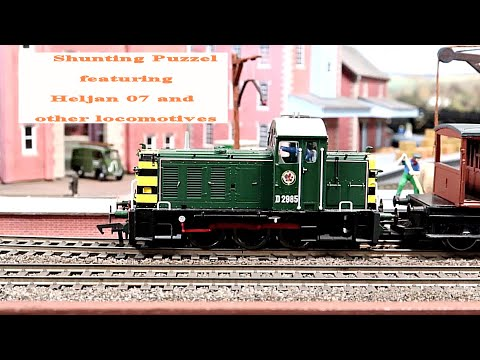 Shunting Puzzle OO Gauge With Heljan 07 And Others