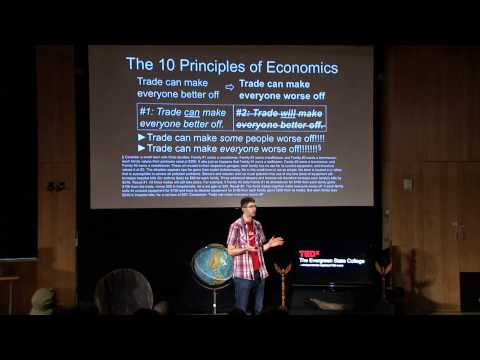 Comedy, economics, and carbon taxes: Yoram Bauman at TEDxTheEvergreenStateCollege