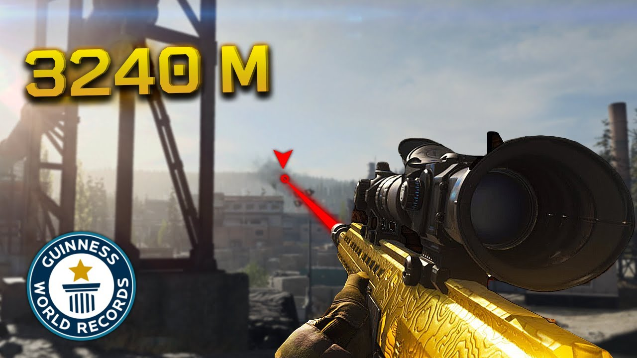 50 IMPOSSIBLE SNIPER SHOTS IN WARZONE!