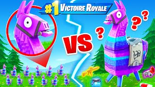 1.000 Géant Lama VS 1.000 Mini Lama sur FORTNITE