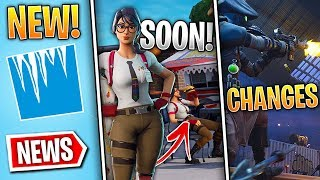 Fortnite News - France Maven Skin Soon, Frostnite Banner, LTM Changes, 14 Days of Fortnite - Plus!