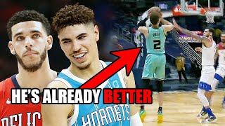 LaMelo Ball Is Already BETTER Than Lonzo (Ft. NBA Floaters, Brother Lonzo, and Weirdness)