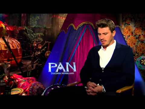 "Pan: Garrett Hedlund ""Hook"" Official Movie Interview"