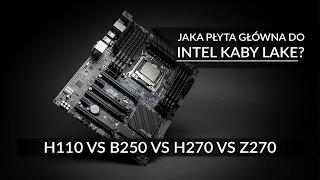 h110 vs b250 vs h270 vs z270 jaka płyta głwna do intel kaby lake