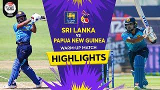 sri-lanka-vs-png-official-warm-up-highlights-reel