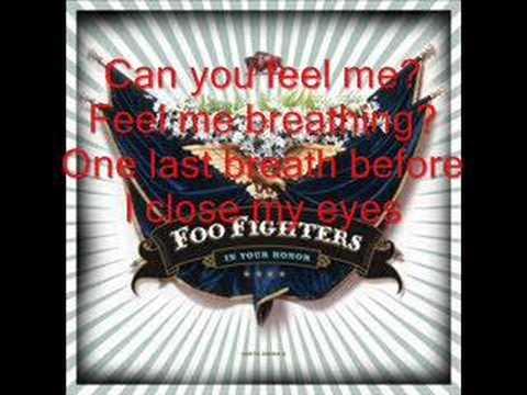 Foo Fighters: In Your Honor (With Lyrics)