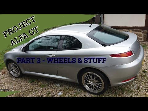 Alfa Romeo GT PART 3 - WHEELS, OIL COOLER, CABIN FILTER