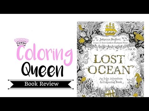 Lost Ocean - Adult Coloring Book Review