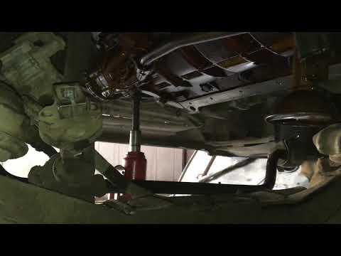 Замена прокладки поддона м52ту
