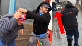 cops called father and son fight in public robbie e family time gone wrong