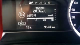 니로 연비 운전 실주행 동영상 35km/L