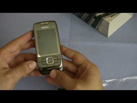 Unboxing Nokia E66 part 1 of 2