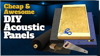 How To Make Your Own Cheap and Awesome Acoustic Panels