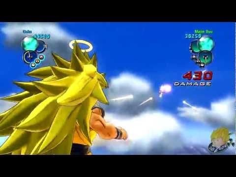 Dragon Ball Z Ultimate Tenkaichi - Story Mode SSJ3 Goku Vs Majin Buu (Part 41) 【HD】