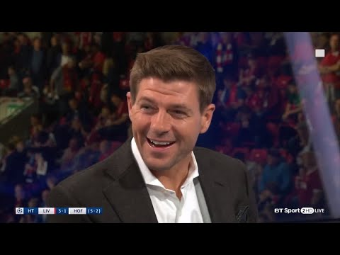 Steven Gerrard's brilliant lines as a pundit on BT Sport