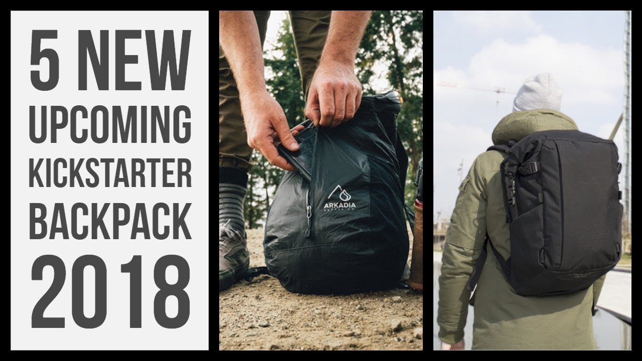 415dafc11d3c 5 New Upcoming Kickstarter travel backpack for October 2018 - Top  backpacking gear