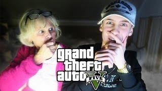 GTA 5 MET MIJN OMA!