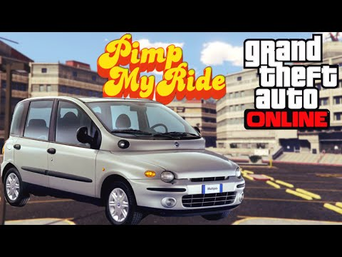 pimp my ride voiture la plus moche nouveau gta 5 online youtube. Black Bedroom Furniture Sets. Home Design Ideas