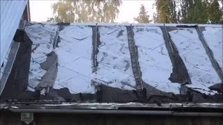 видео Оцинкованный профнастил для крыши - фото и советы по выбору качественного материала