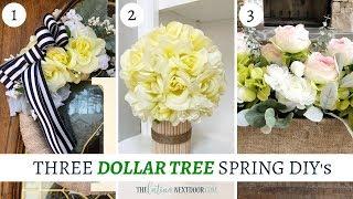 3 Elegant Dollar Tree Spring DIYs