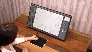 CLIP STUDIO PAINT useful features : Various rulers