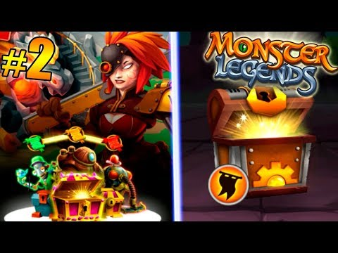 """Monster Legends - Isla Ingenica """"Secrets of the forge of Ingenica Island"""" + Open New Chest #2"""