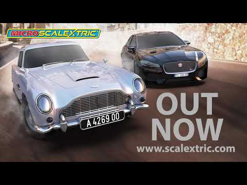 SCALEXTRIC 'No Time To Die' James Bond Micro Scalextric