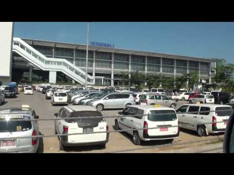 New Terminal 1 at Yangon International Airport, Myanmar