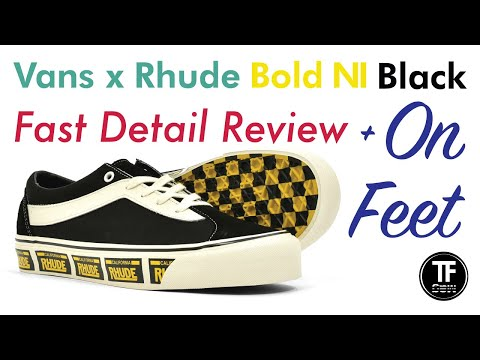 Vans — Bold ni —black Friday pick up unboxingonfeetreview